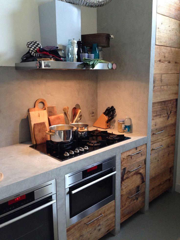 Beal mortex beton keuken