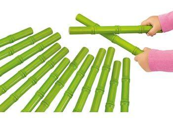 Panda Rhythm Sticks. Beautifully presented panda rhythm sticks for children to play and make music with.