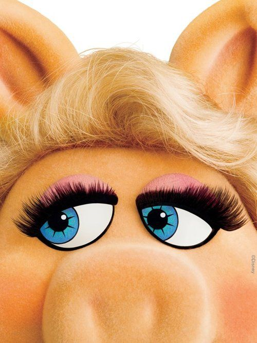 """Beauty is in the eye of the beholder, and it may be necessary from time to time to give a stupid or misinformed beholder a black eye."" – Miss Piggy"