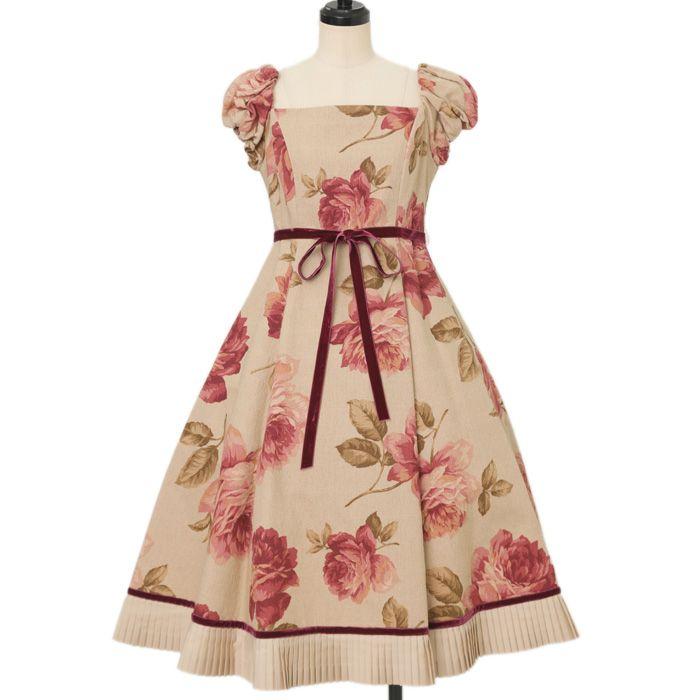 """♡ Juliette et Justine ♡ Rose de Purisse """"Evelyn"""" http://www.wunderwelt.jp/products/detail13378.html ☆ ·.. · ° ☆ How to order ☆ ·.. · ° ☆ http://www.wunderwelt.jp/user_data/shoppingguide-eng ☆ ·.. · ☆ Japanese Vintage Lolita clothing shop Wunderwelt ☆ ·.. · ☆"""