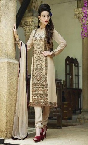 Omtex Being Color Georgette Embroidery Designer Suits