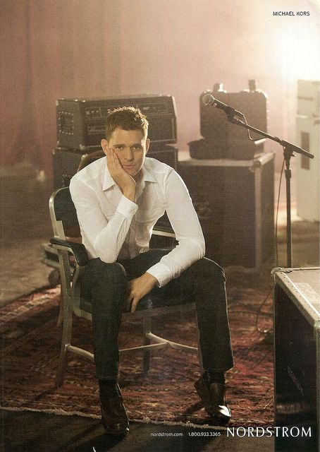 Michael Buble - Nordstrom | Flickr - Photo Sharing! Michael Buble is so handsome and sexy with out a bow tie. Michael is just perfect all together.