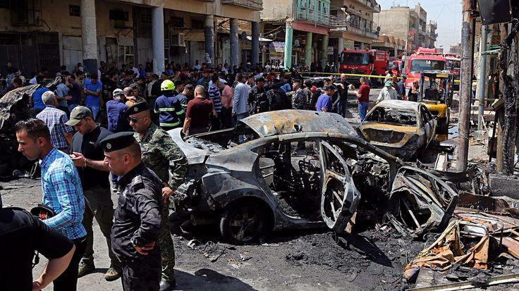 Hat robbantás egy nap alatt Bagdadban – több tucat halott - https://www.hirmagazin.eu/hat-robbantas-egy-nap-alatt-bagdadban-tobb-tucat-halott