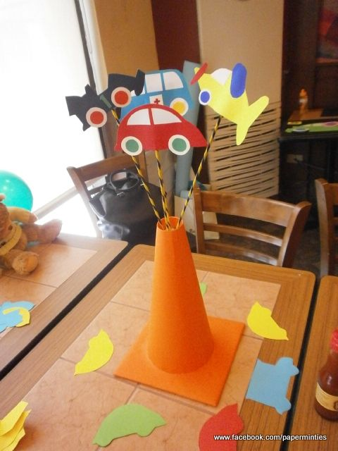 Transportation Party - Table Centerpiece Sticks by paperminties  https://www.facebook.com/Paperminties http://paperminties.blogspot.com/