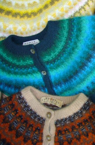 Bohus Stickning - Ooh, that turquoise one!