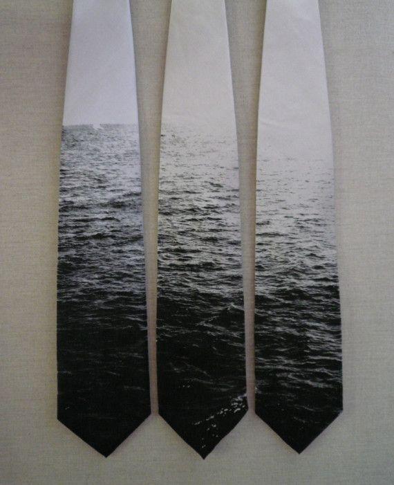 van wazig naar scherp en kleur concept : stropdassen met zee beeld - (re)pinned by Idea Concept Design.nl