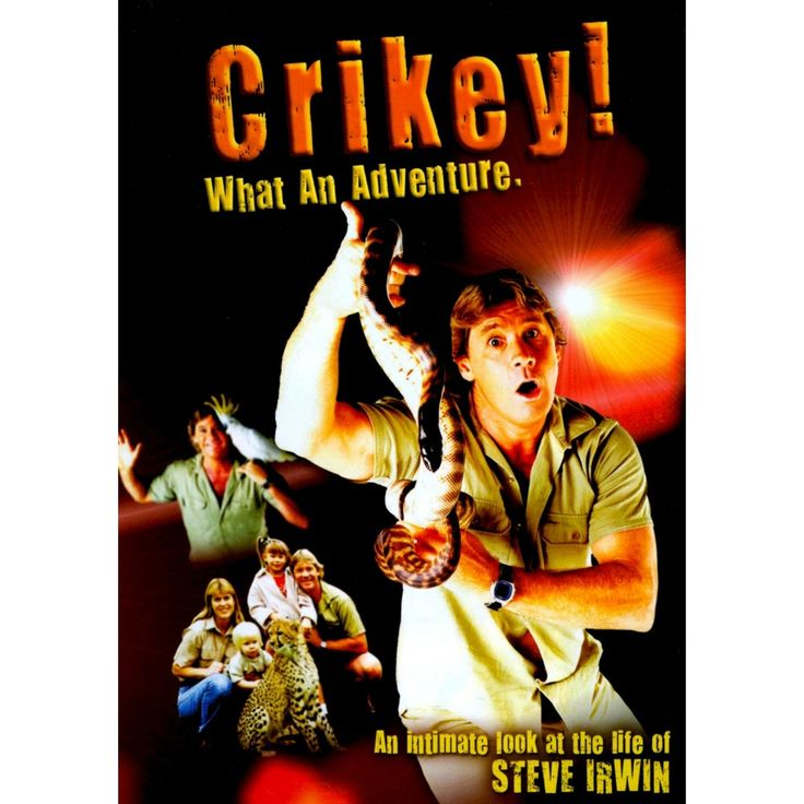 Crikey! What an Adventure: An Intimate Look at the Life of Steve Irwin (dvd_video)