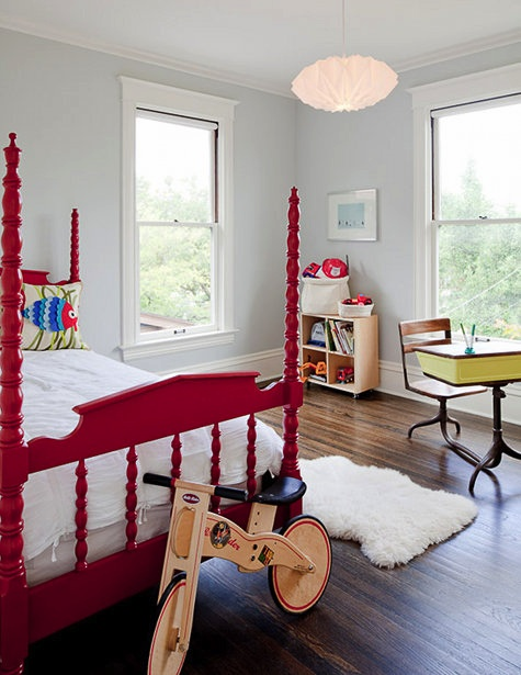 Love the red bed