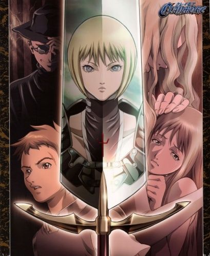 {}Claymore{} It was good but some parts were really boring. 8:10