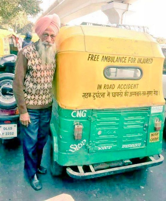 This New Delhi rickshaw driver. | 18 Photos The World Needs To See To Understand How Beautiful India Really Is