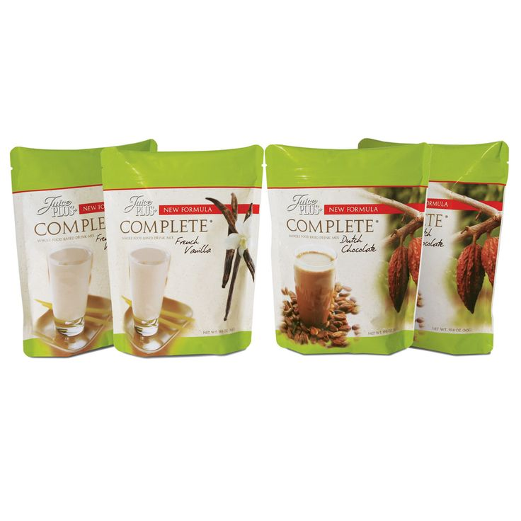 Juice Plus+ Complete is a whole-food-based beverage mix ...
