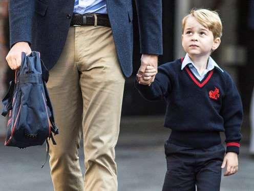 Catalina se pierde el primer día de escuela del príncipe Jorge - excelsior.com.mx