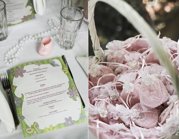 Baby Favor: A Pink Princess Baby Shower With Pearls And Lace   Crafts Ideas
