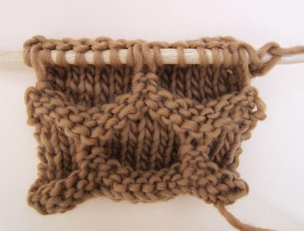 Apprendre à tricoter le point de la ruche                                                                                                                                                                                 Plus