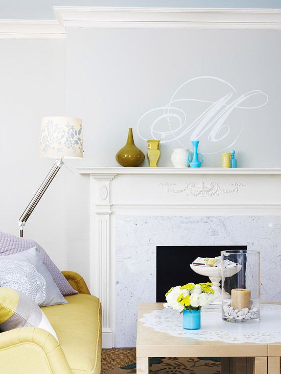 Don't have the time or money to repaint a wall? Wall decals are a fun and easy way to spruce up any simple wall surface. They are easy to apply and simple to remove. Transform your walls in minutes for a fun and creative look!