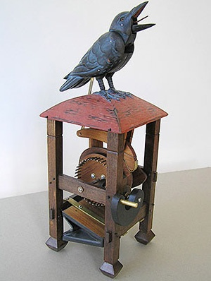 Automata - Animal Mechanical Wooden Bird Machine