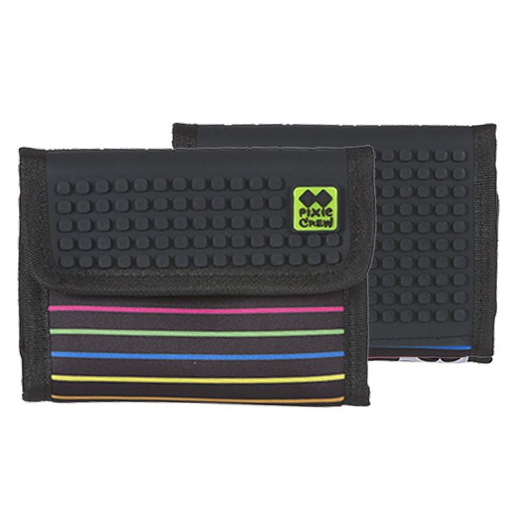 PIXIE CREW Wallet COLORED STRIPES