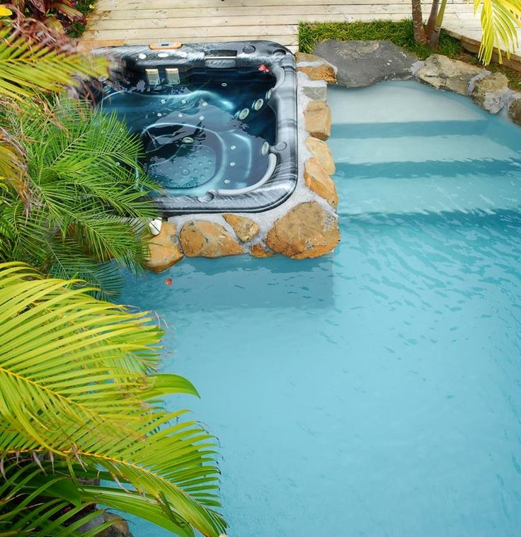 Ultimate pool villa spa pool. Rumours Luxury Villas Spa - Rarotonga