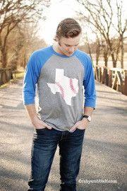Texas Baseball - Men's Baseball Tee