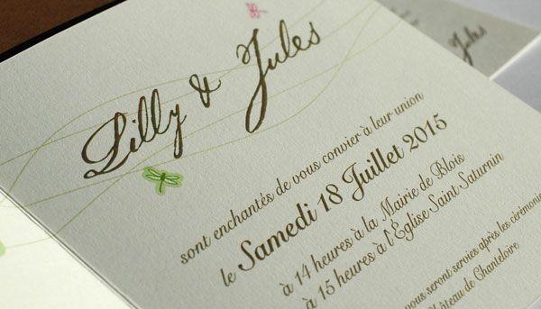 Exemple de texte carte d'invitation mariage