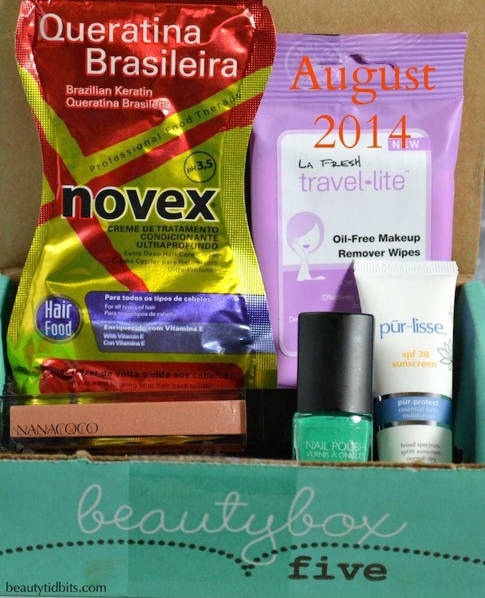 Beauty Box August Photos