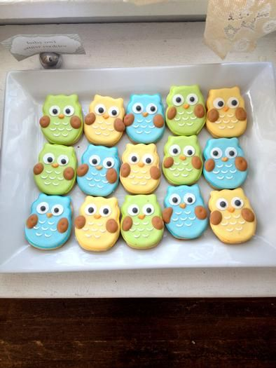 Hostess with the Mostess® - Baby Boy Owl Shower.... THESE COOKIES ARE SOOOOO CUTE!!!!!