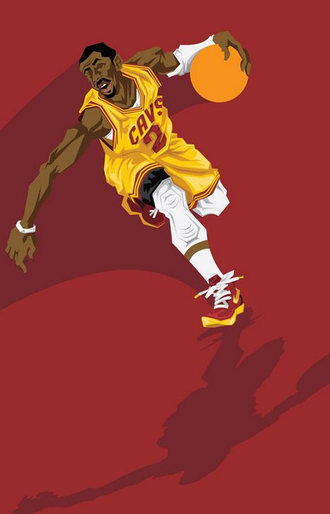 Muideen Ogunmola aka Blocknation captures Kyrie Irving doing what he does best.