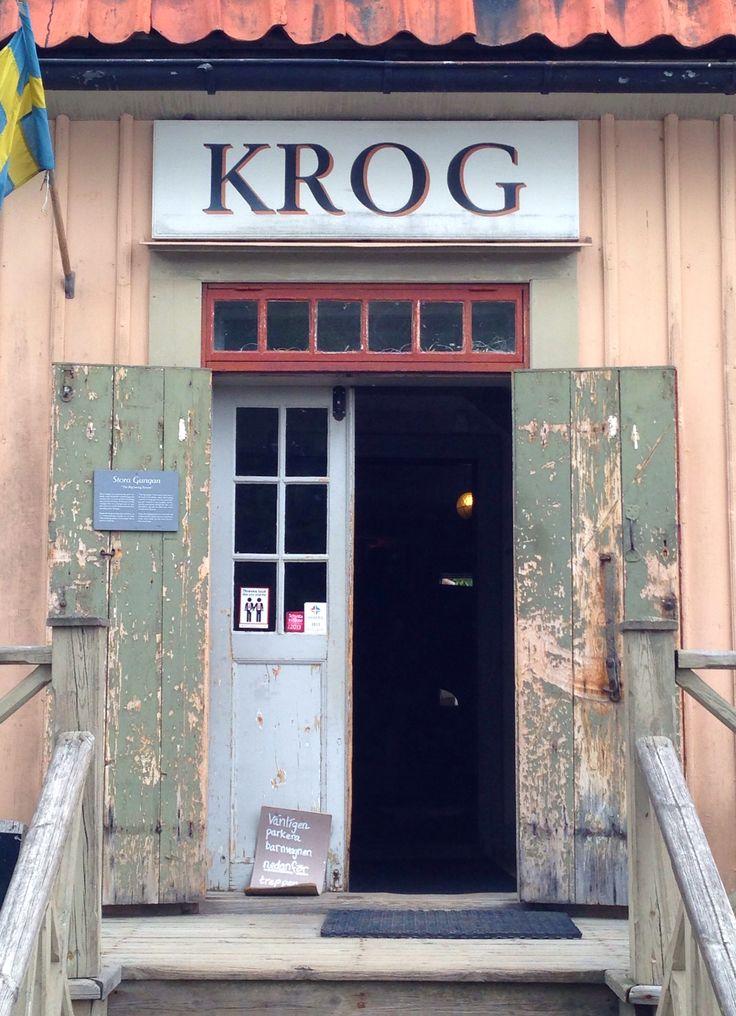 Skasen--located on the Island of Djurgårdsfärjan--Stockholm Sweden