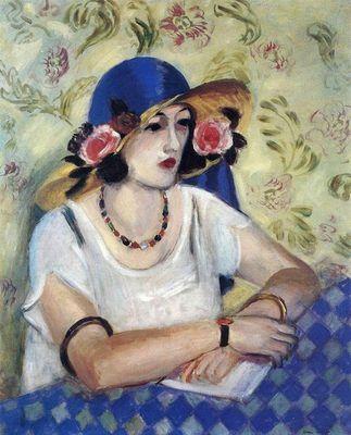 Henri Matisse - La femme au chapeau italien