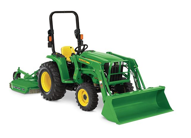 An In-Depth Look at the John Deere 3038E Compact Utility Tractor