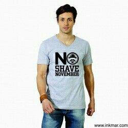 #noshavenovember #noshave #tshirt #inkmar