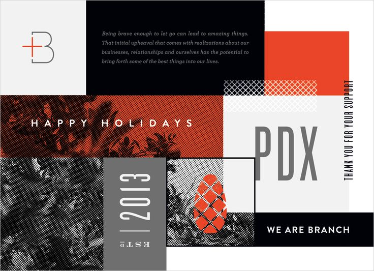 We Are Branch | Holiday Print Promo