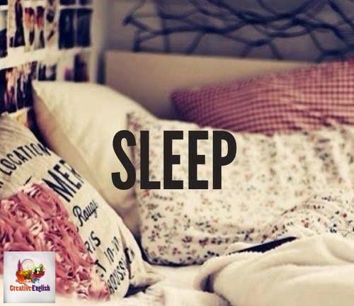 fall asleep - засыпать wake up - просыпаться be fast asleep - быстро уснуть be wide awake - сна, ни в одном глазу have insomnia - страдать от бессонницы snore - храпеть have a nap - вздремнуть talk in your sleep - говорить во сне sleepwalk - ходить во сне have a lie-in - полежать/поваляться в постели have nightmares - видеть кошмары