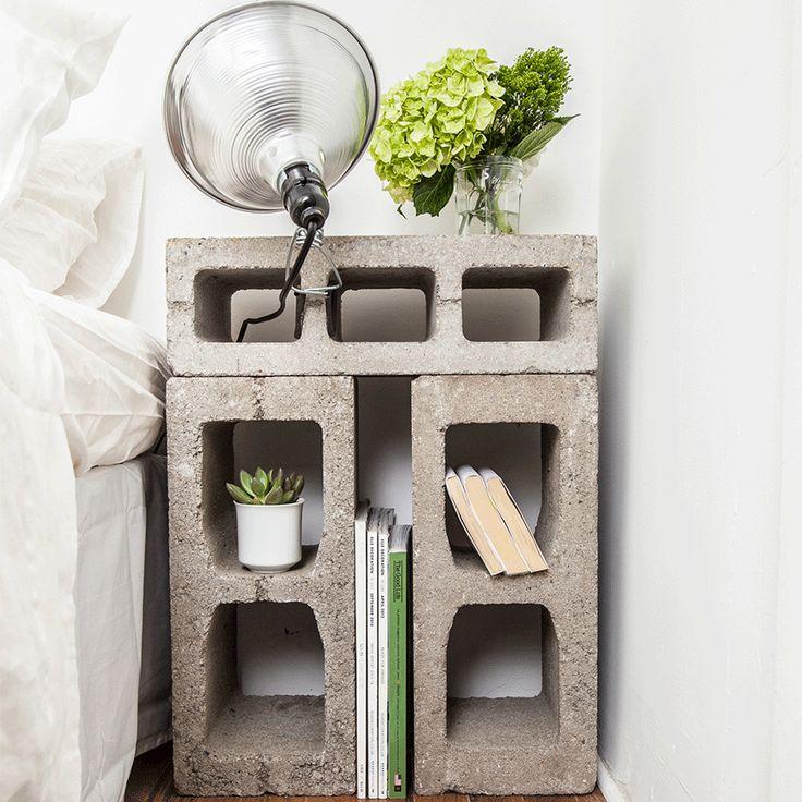 Breeze-block storage | ELLE Decoration UK