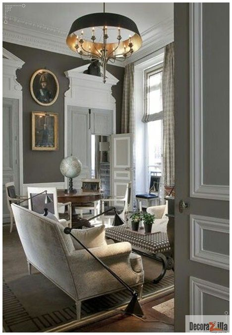 Modern Day Classic Interior Living Trend - http://www.decoradvisor.net/decoration-ideas/modern-day-classic-interior-living-trend/
