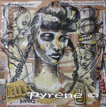 """""""Peules du Mali"""" fusain sur toile 80x80 cm   http://www.artmajeur.com/helene-py/     http://wizzz.telerama.fr/azurwizzz     https://www.facebook.com/pages/H%C3%A9l%C3%A8ne-Py/483215725063037   &     http://helene-py-pyrene-peinture-ecriture.over-blog.com/"""
