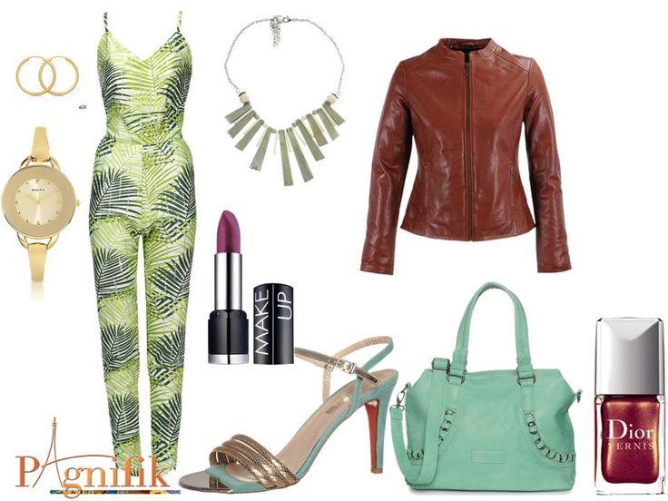 Idée de look – Combinaison verte Sika Designs | Pagnifik