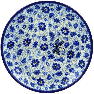 Polish Pottery 8-inch Plate | Boleslawiec Stoneware | Polmedia H4124D | Polmedia