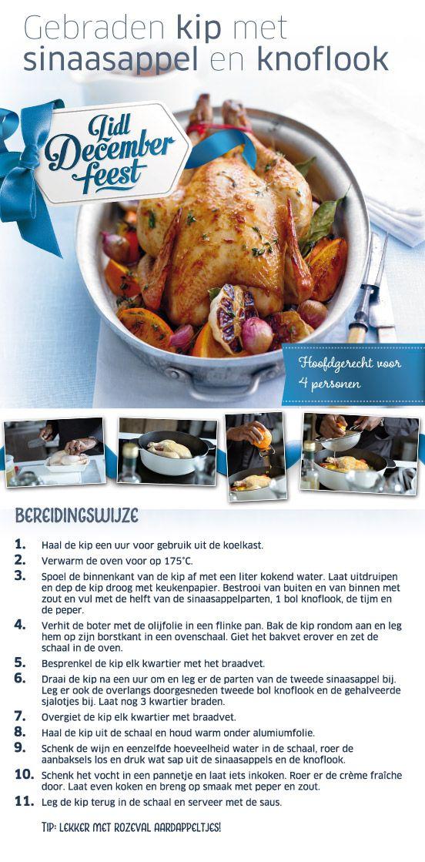 Hoofdgerecht) Gebraden kip met sinaasappel en knoflook - Lidl Nederland