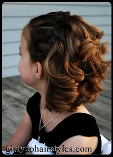 This site is fantastic for all kinds of tutorials on hair styles for little girls!