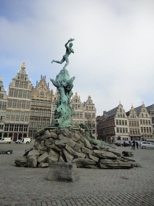 I studied abroad for a semester at the University of Antwerp in Belgium.