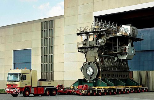 Ship Engine - check the size of this thing!
