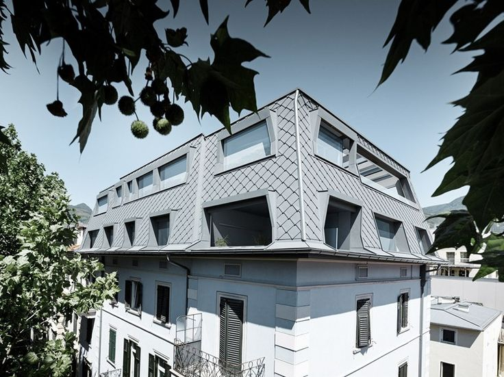 Aluminium Metal shingle for roof ROOF RHOMBOID PANEL by PREFA ITALIA