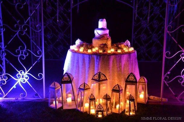 wedding cake torino by simmi floral & event design