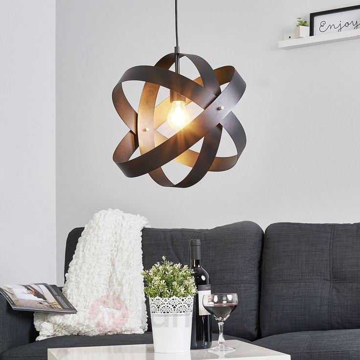 Czarna lampa wisząca LED CARA z 3 pierścieniami bezpieczne & wygodne zakupy w sklepie internetowym Lampy.pl.