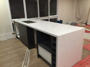 Carrara Prefabricated Benchtop