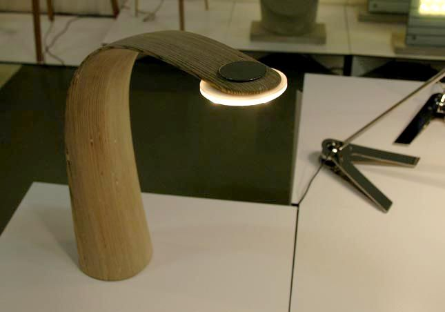 TAIPUU   table lamp seems so natural with wooden stem