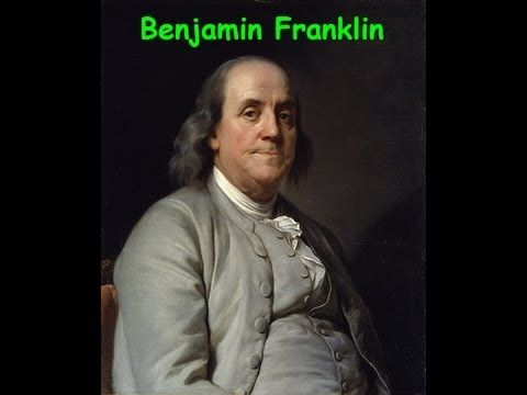 a study of the life of benjamin franklin The life and times of benjamin franklin, beginning with his parents, his birth,   benjamin franklin studied many different branches of science.