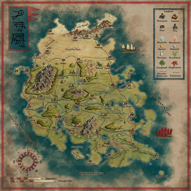 The mighty Ynchong Empire Remake by
