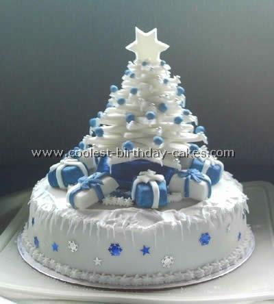 Beautiful Xmas Cake